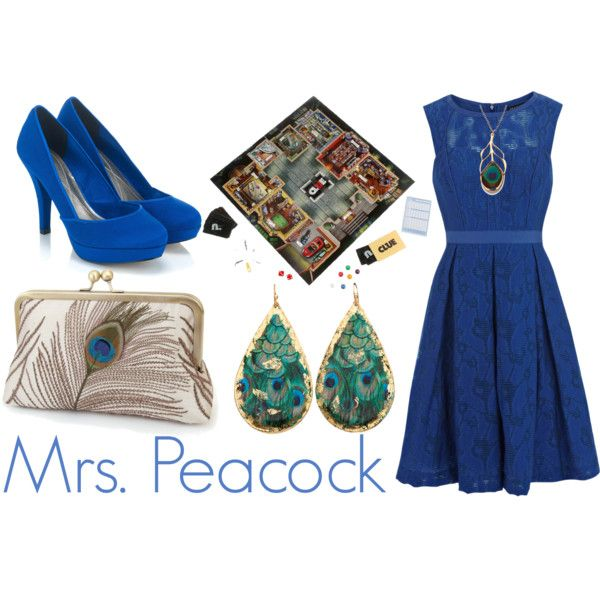 """Mrs. Peacock"" by chanel-lover28 on Polyvore"