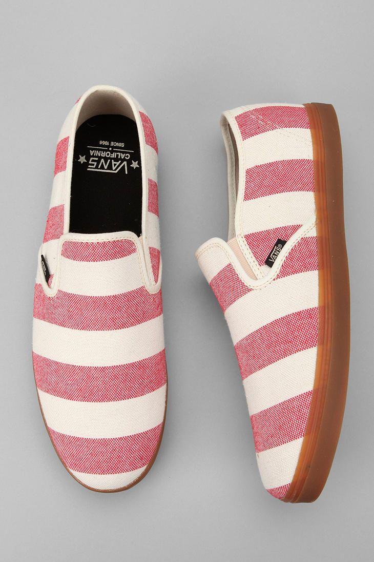 Vans California Striped Low Pro Slip-On Sneaker  #UrbanOutfitters. Oooh yeah!