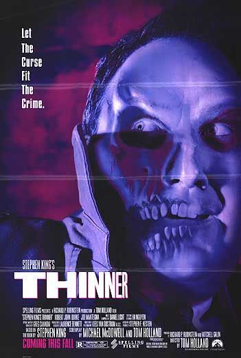 Stephen King's Thinner Movie Poster - Internet Movie Poster Awards Gallery