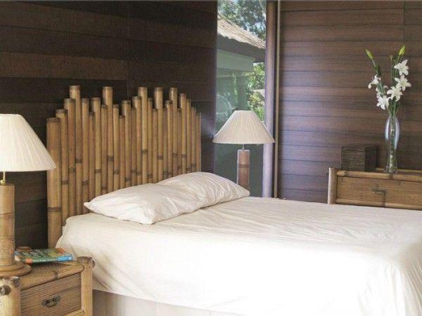 M s de 1000 ideas sobre cabecero de bamb en pinterest - Cabecero de bambu ...