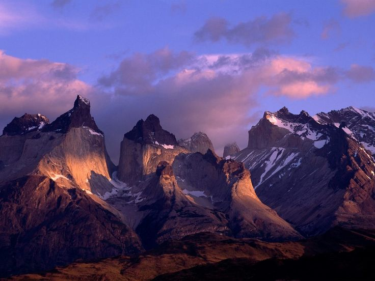 Cuernos Del Paine, Andes Mountains, Chile