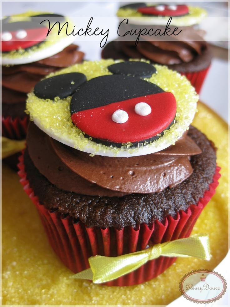Fleury Douce: Mickey Cupcake !