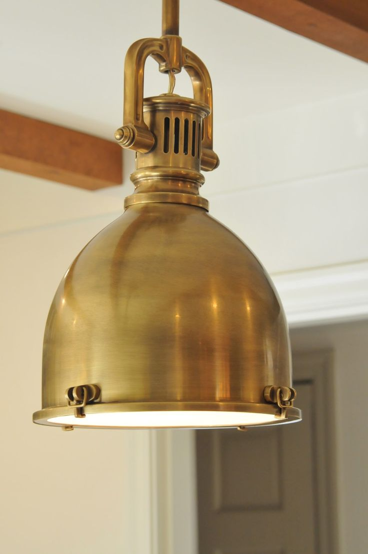NINE + SIXTEEN - I want brass lighting for the kitchen