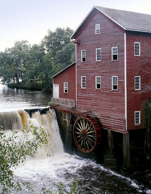 water wheel mills in wisconsin - Google Search