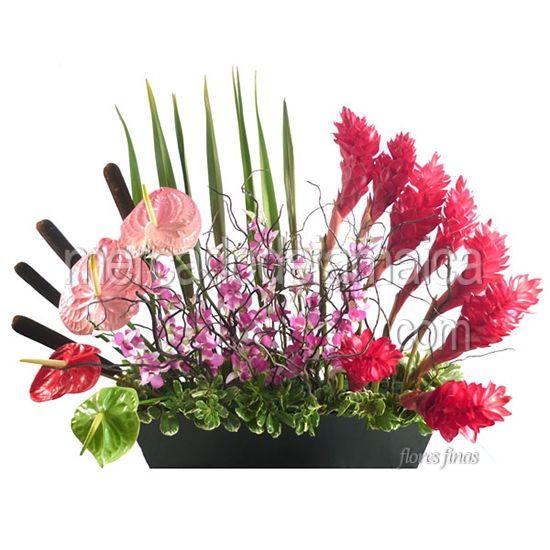 Mejores imágenes de arreglos florales con anturios en