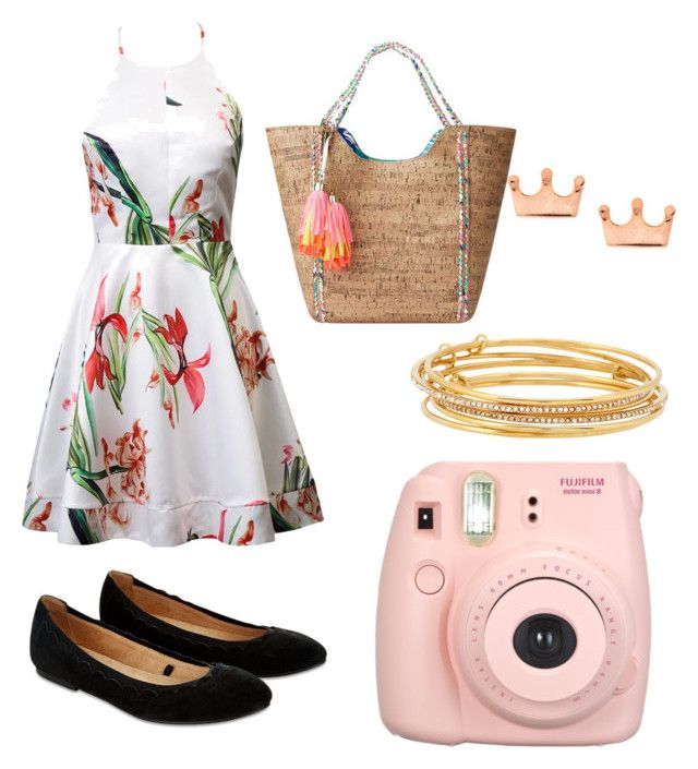 """""""summer came"""" by yangui-sarra on Polyvore featuring mode, Accessorize, Lilly Pulitzer, Fujifilm et Kate Spade"""