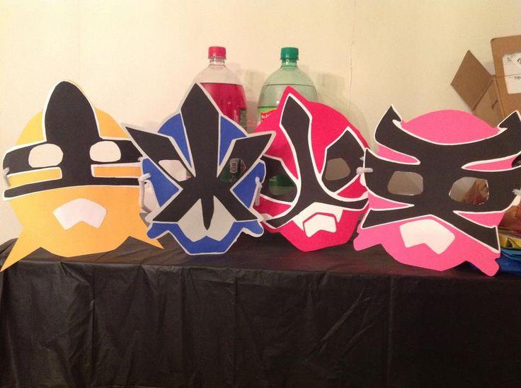 power rangers masks