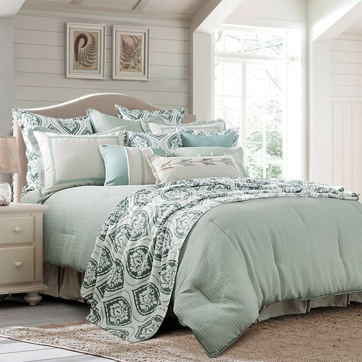 Seafoam Comforter Set Light Teal Bedding Set Amp Accents