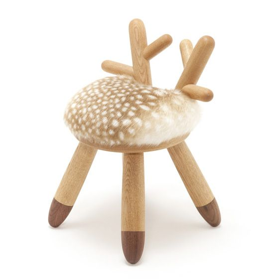 cutie ! Bambi chair by Kamita