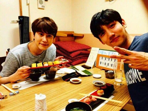 Changmin + Kyuhyun