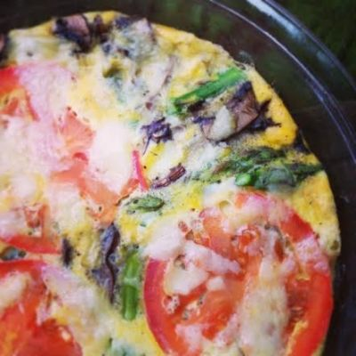 Ripped Recipes - Vegetable Frittata  - One of my favorite healthy breakfasts to throw together!