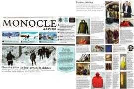 flouzen in MONOCLE magazine