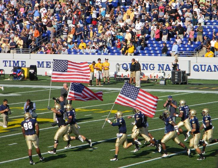 Naval Academy Football<3