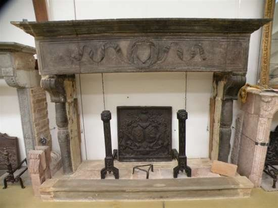 Antique Wood Mantels for Sale | Antique stone fireplace mantel from antiquetuscanfireplacemantels.com