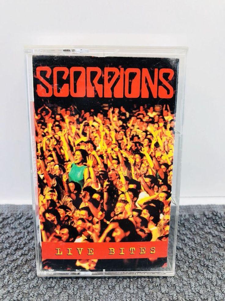 Vintage - 1995- SCORPIONS - LIVE BITES - Cassette Tape    eBay