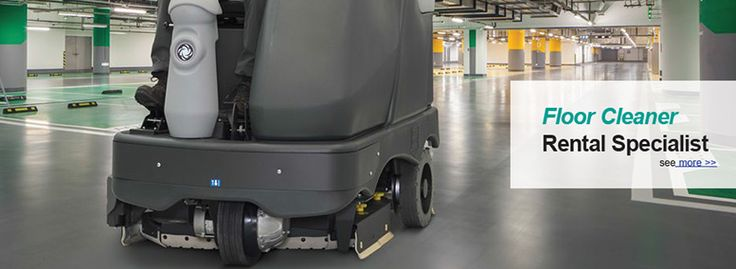 We at Crescent industrial provide you right cleaning machine on time, on hire on site. So you will get your floor clean when you need it.