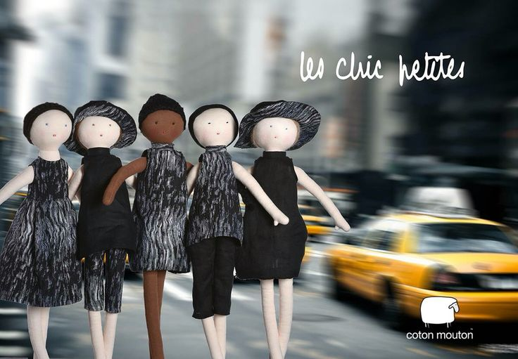 Our chic petites will be available on April 15, 2016 on cotonmouton.com