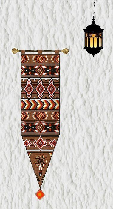 ♡ Patrones Punto de Cruz Serie Tapices/Murales