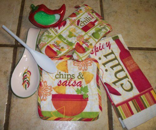 Chili Pepper Kitchen Curtains: Pin By Tina Holland On Chili Pepper Decor For Kitchen