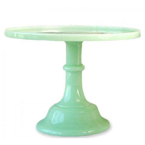 Jadeite Milk Glass Pedestal