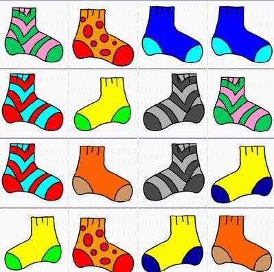 Memory sokken