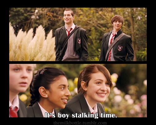 Angus, Thongs, and Perfect Snogging ♥