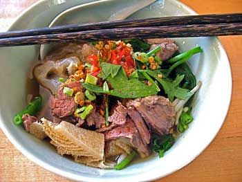 Beef Noodle Soup - click for larger image