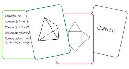 Jeu de cartes sur les solides