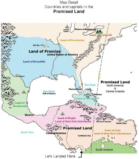 Book of Mormon geography evidence land map definitive DNA archaeolgy