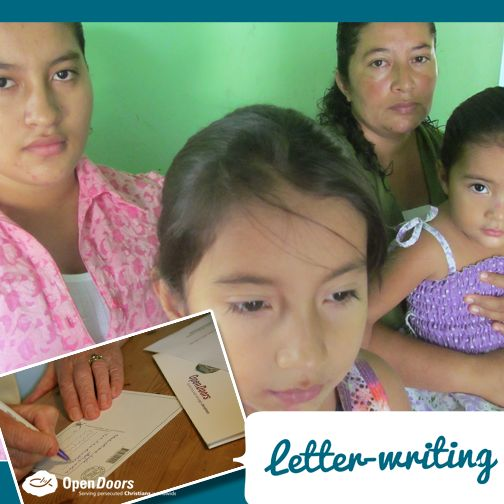 Laura is a widow with four girls. Her husband and their son were murdered by unknown people in Guaviare in January last year.  Not only is this family trying to overcome their trauma and loss, but they have also had to deal with attacks and ill-treatment from their relatives. How can you help Laura? You can start by writing a letter of encouragement to her and her family. You can download letter writing guidelines by clicking here: http://ht.ly/K8Kr5