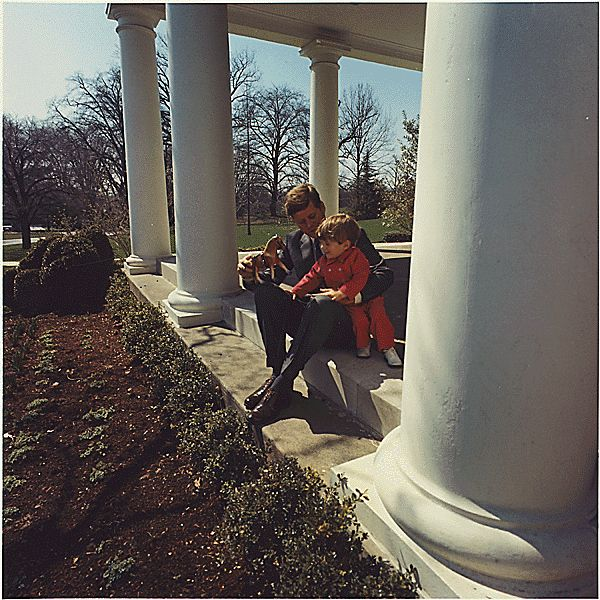 JFK & son