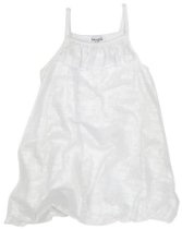 Splendid Littles Metallic Burnout Dress, Silver