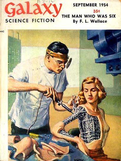 Galaxy Science Fiction No 46  (Sep 1954)