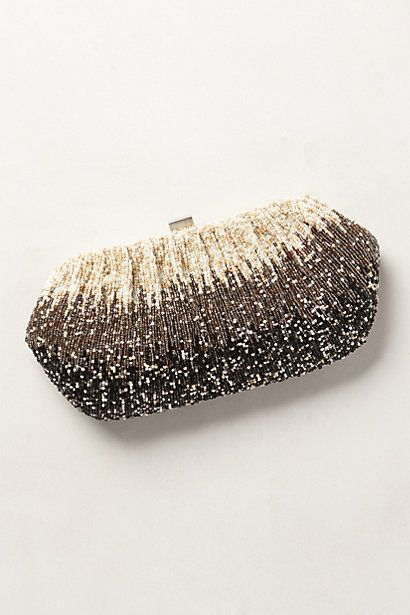 Obsessing over clutches lately....Lilt Beaded Clutch - anthropologie.com