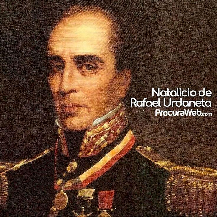 Gran personaje de nuestra historia regional y nacional hoy celebramos el natalicio del General Rafael Urdaneta.  #ProcuraWeb #Efemérides #Venezuela #Zulia #Maracaibo #24Octubre