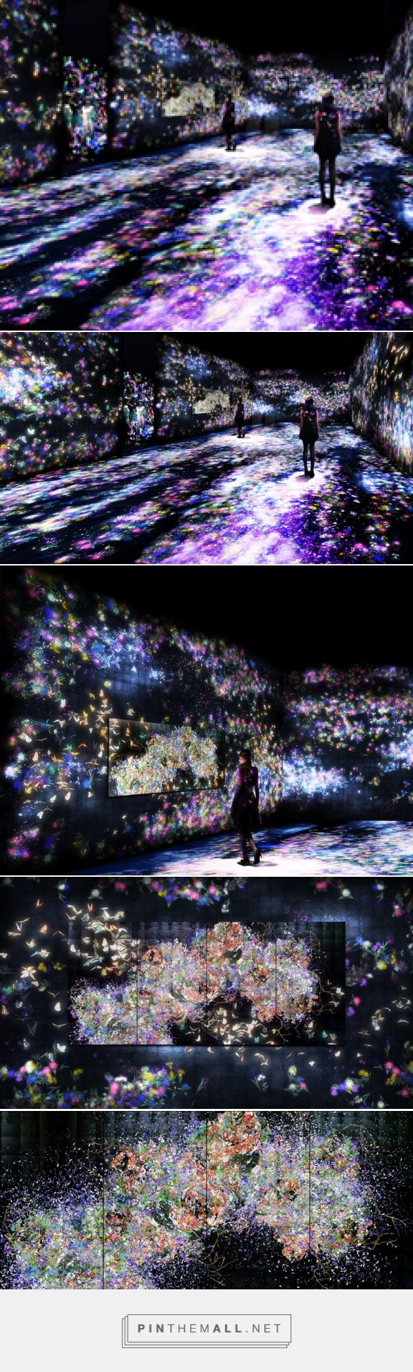 teamlab sends a flutter of butterflies beyond borders into saatchi gallery - created via http://pinthemall.net