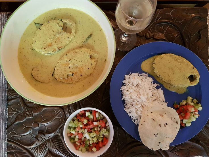 Mustard And Coconut Fish Curry