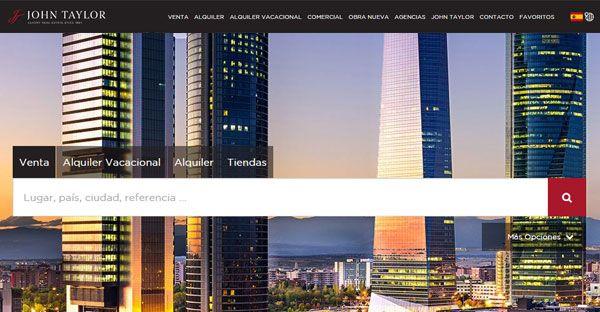 john-taylor.es | Inmobiliaria de lujo en venta, alquiler, alquiler vacaciones en España : Madrid. Agencias inmobiliarias John Taylor.