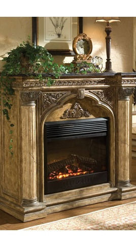 Understated Elegance And Efficiency Make This Clean Yet Sophisticated  Ambella Arch Electric Fireplace Mantel A Perfect Focal Point For Any Room.