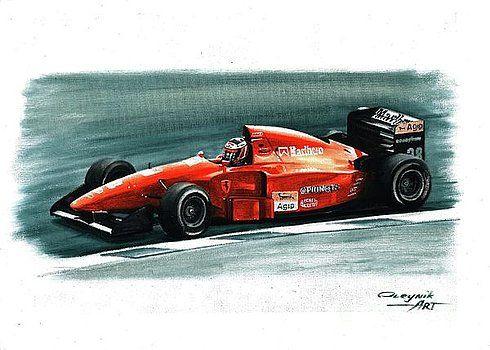 1994 Ferrari 412T1B by Artem Oleynik