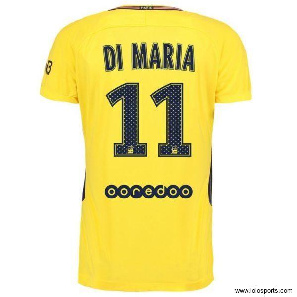 Maillot Di María PSG Extérieur 2017/2018