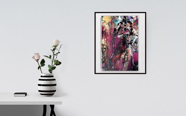 """Original abstract painting """"Colour Fantasy"""" by Tracey Lee Everington (Tracey Lee Art Designs) by Traceyleeartdesigns on Etsy https://www.etsy.com/au/listing/385129960/original-abstract-painting-colour"""