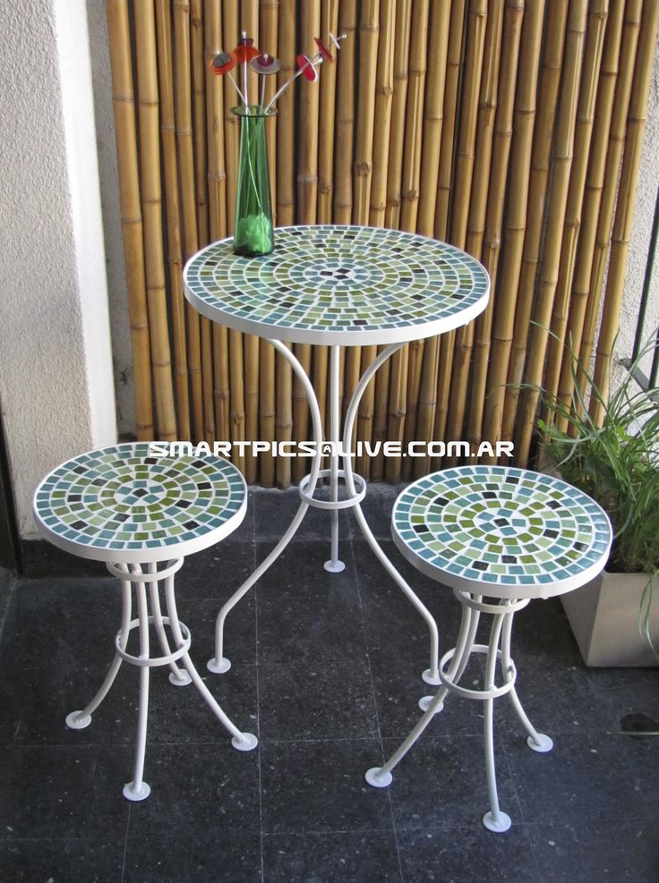 50 best mesas images on pinterest for Banquitas de madera para jardin