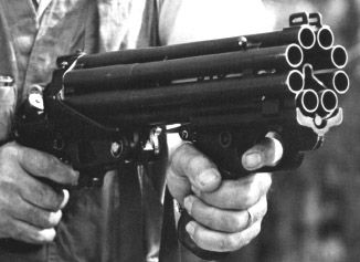 Colt Defender 20 Ga. Mark I Designed as a simple urban guerrilla weapon in the vein of OSS weapons made for the Resistance in WWII.