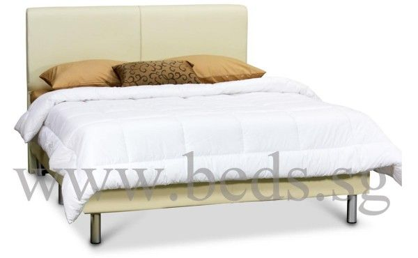 Best Florence Faux Leather Bed Frame Leather Bed 400 x 300