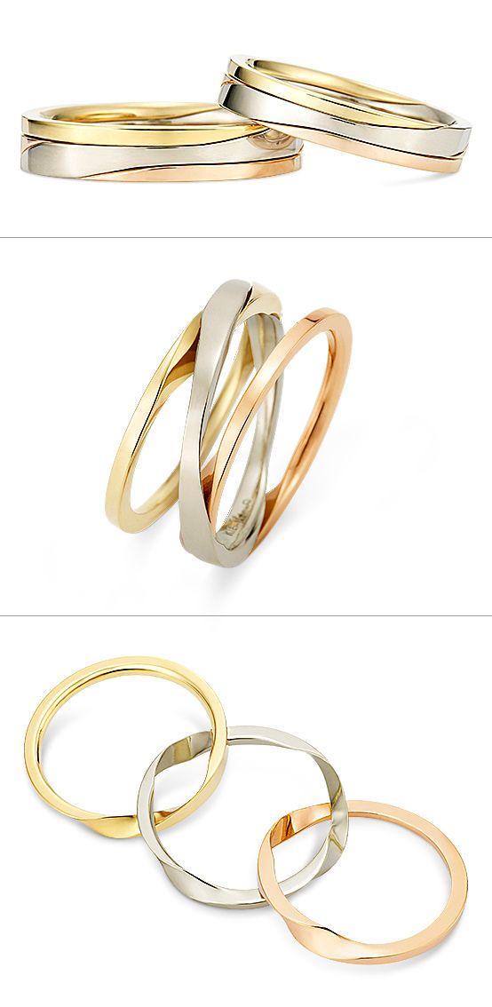 Ring: Gimmel Ring (Three-strand)./ 【リング -Gimmel…