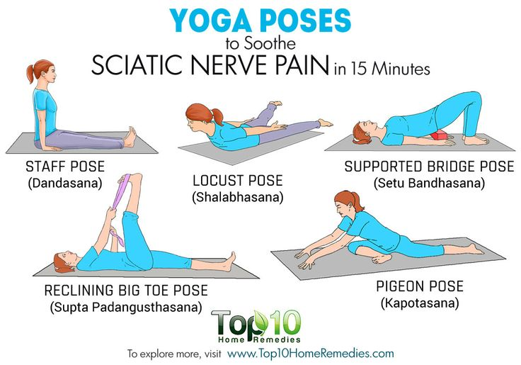 yoga poses for sciatica