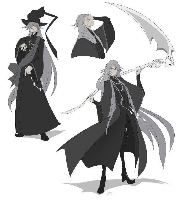 Undertaker By T Square Black Butler Kuroshitsuji