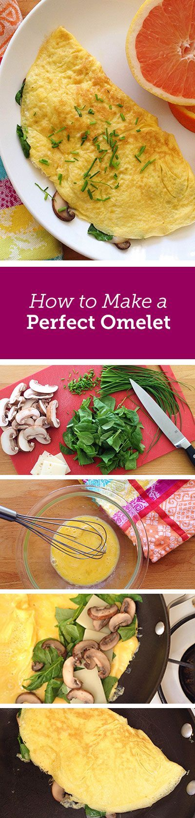 How to make a perfect omelet