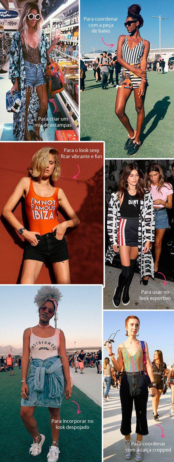 10 provas de que o body não precisa ser sempre sexy